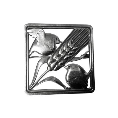 Georg Jensen Georg Jensen Sterling Silver Birds Brooch 1933 44