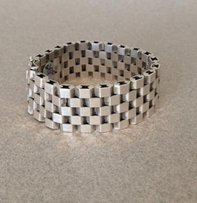 Georg Jensen Georg Jensen Sterling Silver Bracelet by Ernst Forsmann No 191