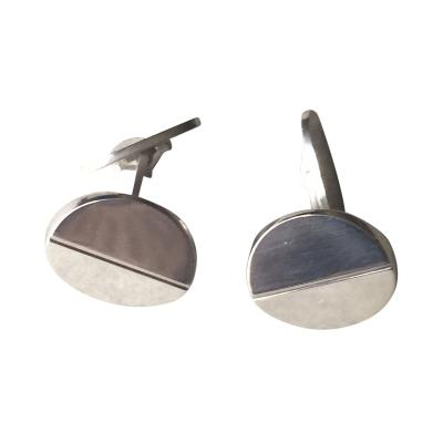 Georg Jensen Georg Jensen Sterling Silver Cufflinks No 106 by Andreas Mikkelsen