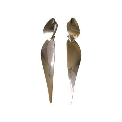 Georg Jensen Georg Jensen Sterling Silver Dangle Earrings by Nanna Ditzel No 128A