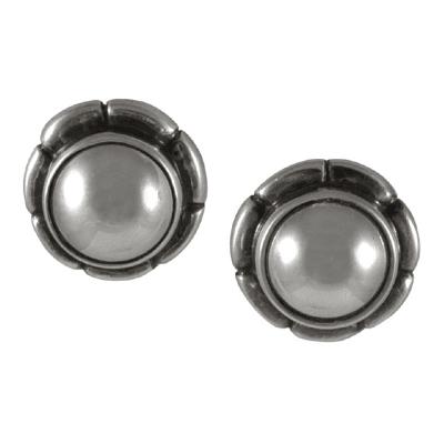 Georg Jensen Georg Jensen Sterling Silver Earrings No 2001