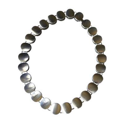 Georg Jensen Georg Jensen Sterling Silver Modern Necklace No 124 by Nanna Ditzel