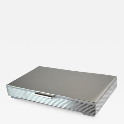 Georg Jensen Georg Jensen Sterling Silver Small Table Box No 712 by Sigvard Bernadotte