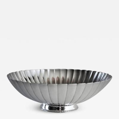 Georg Jensen Georg Jensen Sterling Silver Strawberry Bowl No 856 by Sigvard Bernadotte