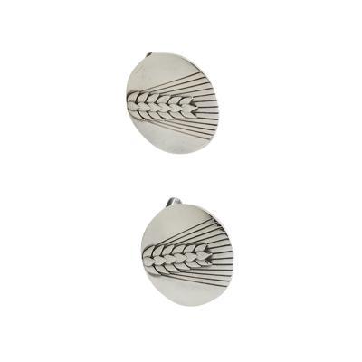 Georg Jensen Georg Jensen Sterling Silver cufflinks design number 78B