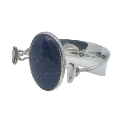 Georg Jensen Georg Jensen Torun Bangle 203 With Lapis Lazuli