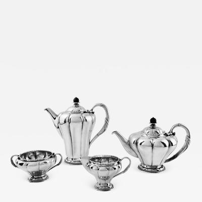 Georg Jensen Rare Antique Georg Jensen Art Nouveau Tea Coffee Service 3