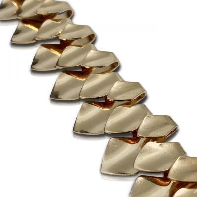 Georg Jensen Rare Georg Jensen 18kt Gold Necklace 1133