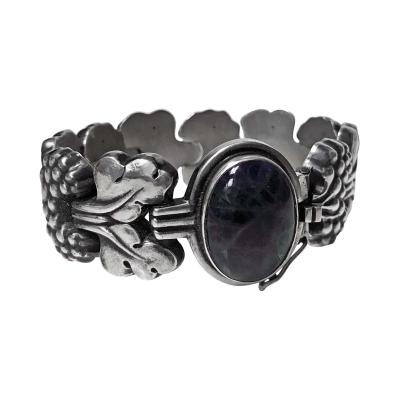 Georg Jensen Rare Georg Jensen Sterling Silver PARIS Bracelet No 30 Denmark C 1945
