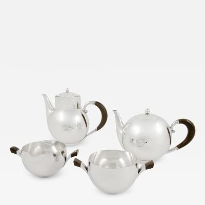 Georg Jensen Rare Georg Jensen Tea Coffee Set 533 by Johan Rohde