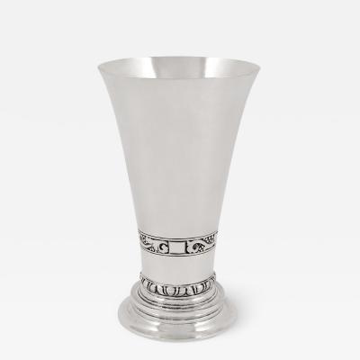 Georg Jensen Rare Georg Jensen Vase 92 From 1918