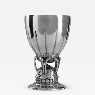 Georg Jensen Rare Vintage Georg Jensen Sterling Silver Goblet 149