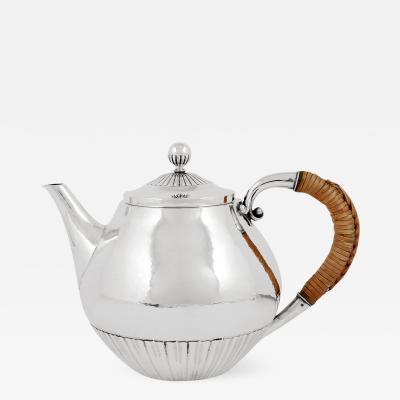Georg Jensen Unusual Georg Jensen Cosmos Teapot 45