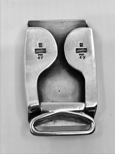 Georg Jensen Vintage Georg Jensen Belt Buckle 67