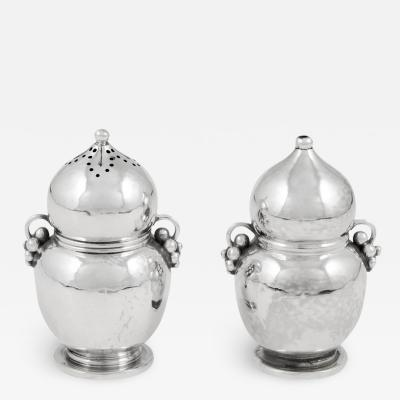 Georg Jensen Vintage Georg Jensen Grape Salt and Pepper Shakers 724