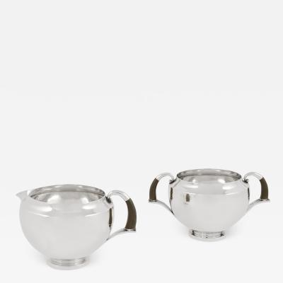 Georg Jensen Vintage Georg Jensen Sterling Silver Cream Sugar Set 506 by Johan Rohde