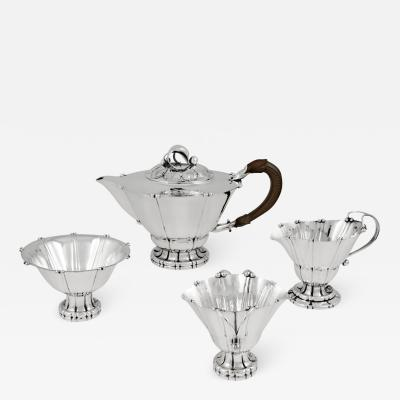 Georg Jensen Vintage Georg Jensen Tea Set 4