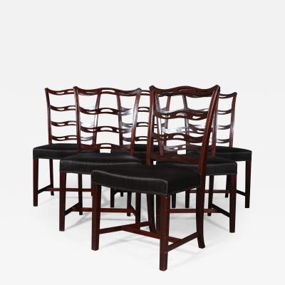 Georg Kofoed Georg Kofoed Set of six chairs mahogany 6