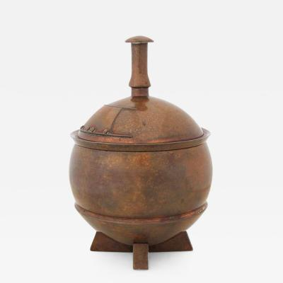 George Adlam Sons Bronze Urn by George Adlam Sons