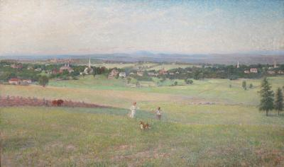 George Albert Frost View of Groton Massachusetts from Gibbet Hill