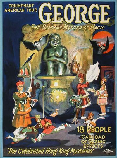 George An American Magician Poster circa 1926