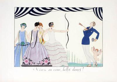 George Barbier Le Bonheur du Jour A set of 6 lithographs