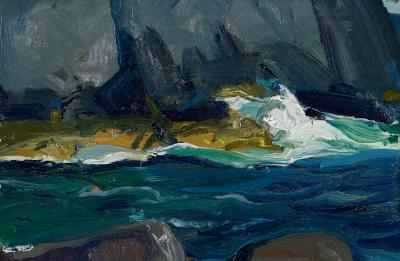 George Bellows Gothic Headland 1913