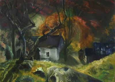 George Bellows Little House in the Woods