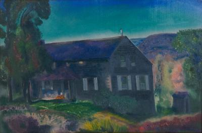 George Bellows The Black House October 1924