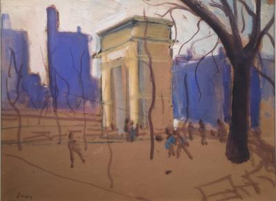 George Benjamin Luks Washington Square New York