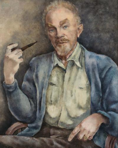 George Biddle Portrait of Boardman Robinson