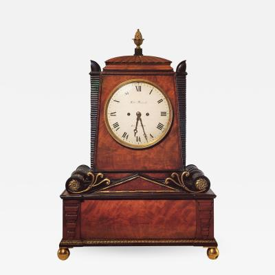 George Bullock Regency Period Musical Clock Attributed to Bullock
