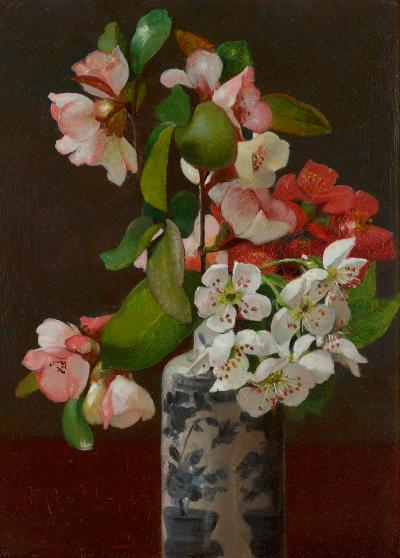 George Cochran Lambdin Floral Still Life 1872