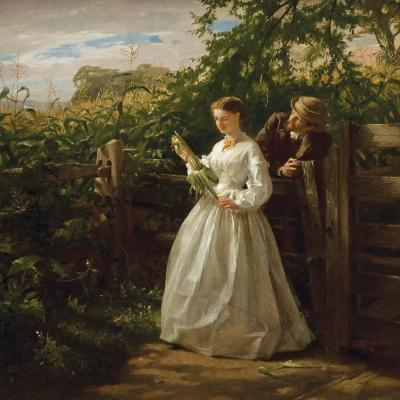 George Cochran Lambdin In the Ear 1865
