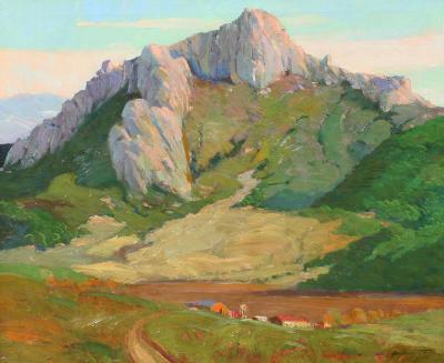 George Demont Otis Mountain Landscape