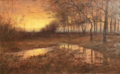 George F Schultz Twilight in the Marshes