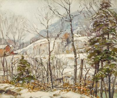 George Gardner Symons Winter in the Country