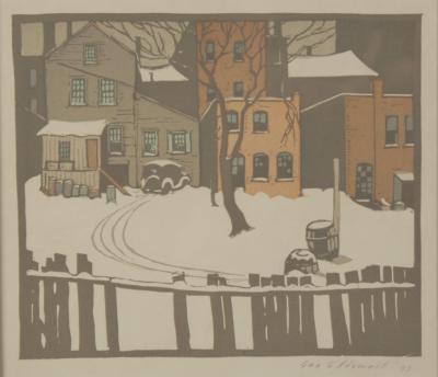 George Gustav Adomeit First Snow