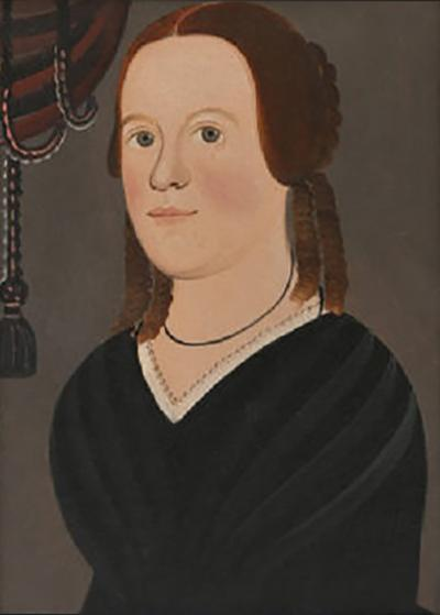 George Hartwell PORTRAIT OF SARAH JANE CLAY