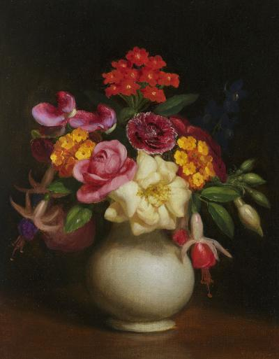 George Henry Hall Floral Still Life