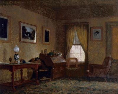 George Henry Yewell Interior Scene