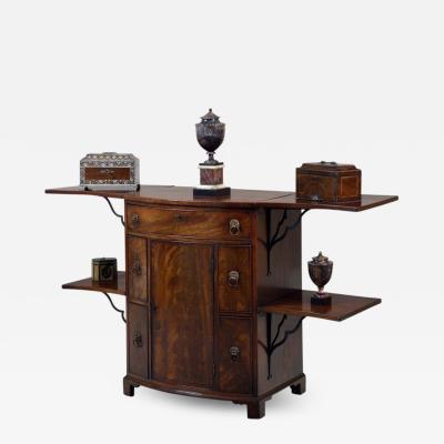 George Hepplewhite Sideboard Serving Table Buffet in Choice Mahogany of the Georgian Period