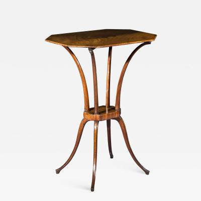 George Hepplewhite Small Georgian Spider Leg Table