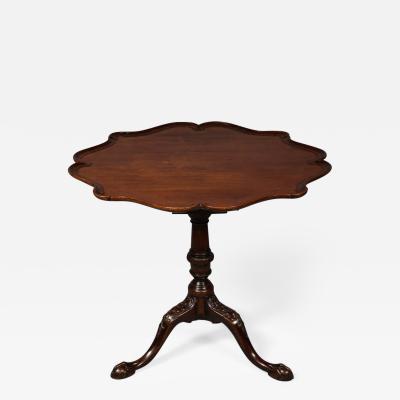 George II Birdcage Tilt Top Table