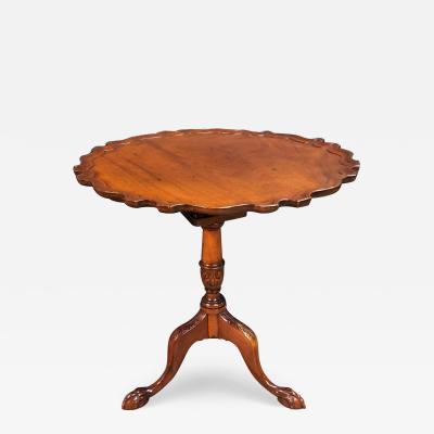 George II Mahogany Pie Crust Table