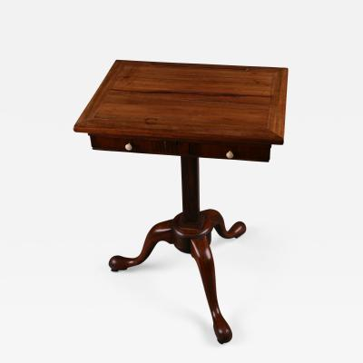 George II Padouk Extended Reading Stand England ca 1740
