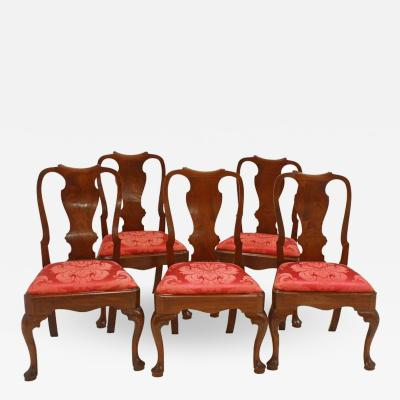 George II Side Chairs Group of Five