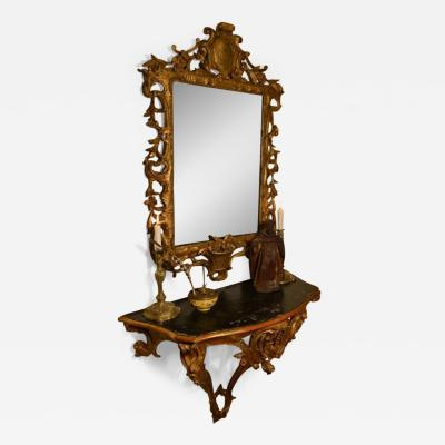 George II pier mirror circa 1750