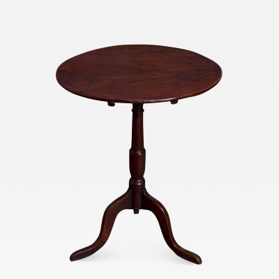 George III Elm and Oak Tripod Table
