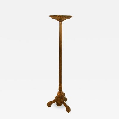 George III Giltwood Torchiere Pedestal